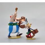 Figurine Pixi Astérix & Obélix, The drum of pans