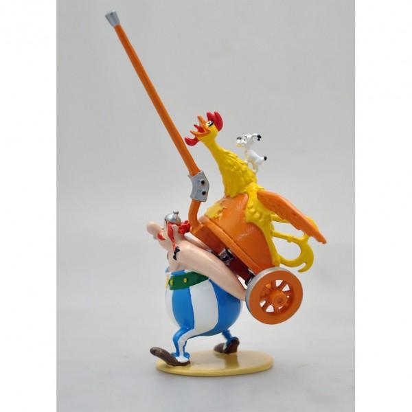 Figurine Pixi Astérix et Obélix, Il n'y a pas que les menhirs...