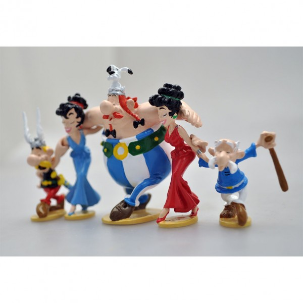 Figurine Pixi Astérix et Obélix, le Sirtaki