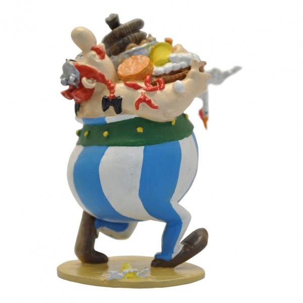 Obélix et son panier d'aliments - Figurine Pixi