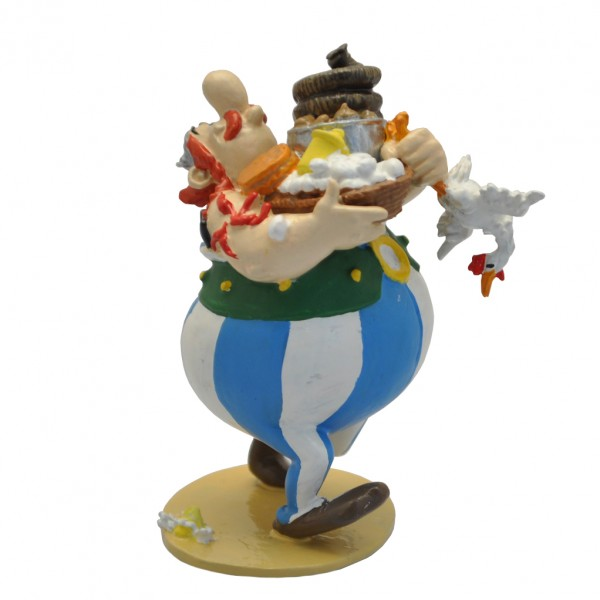 Figurine Pixi Obelix and the gift basket
