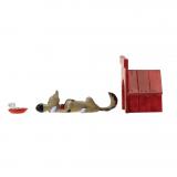 Figurine Pixi Origine Lucky Luke La niche de Rantanplan