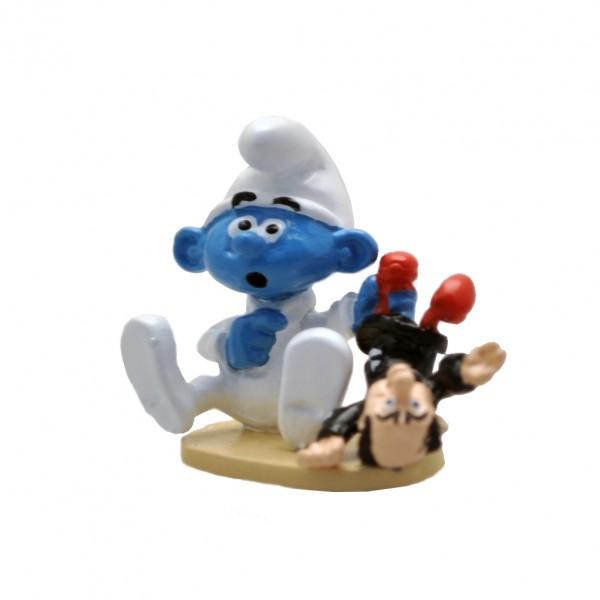 Le Bébé Schtroumpf et sa poupée Gargamel - Pixi Origines III