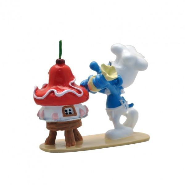 Le Schtroumpf pâtissier et son gâteau - Pixi Origines III