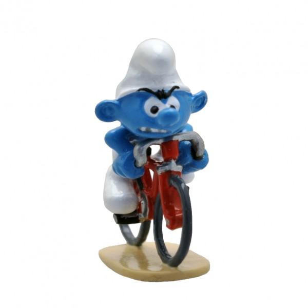 Figurine Pixi Cyclist Smurf