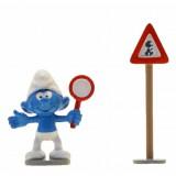 Figurine Pixi Passage pour Schtroumpf, Code de la route