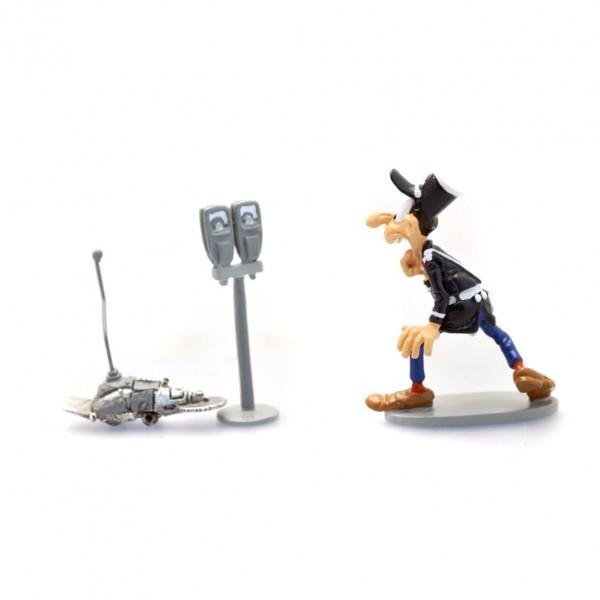 Longtarin et le robot scieur de parcmètre - Gaston - Pixi Origines