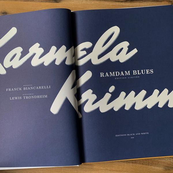 Tirage de tête - Karmela Krimm Tome 1