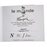Figurine pixi signature Franquin Le petit avion