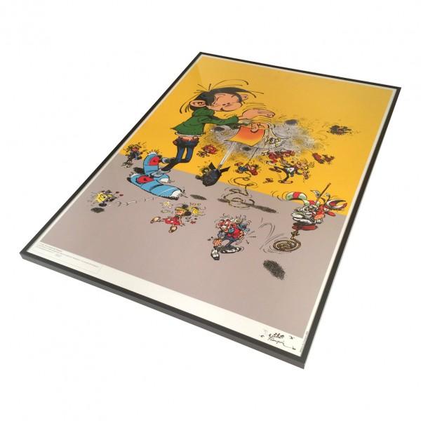 Affiche les univers de Franquin