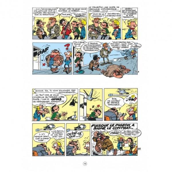 Gaston - Le contrat Lagaffe - Hors série