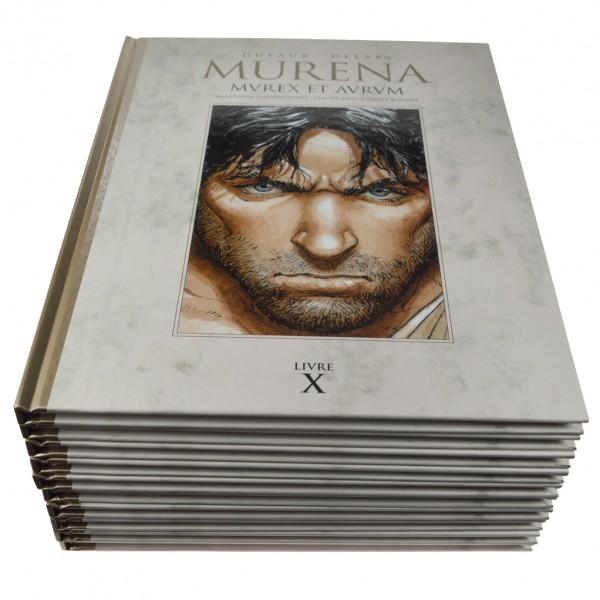 Collection complète Murena par Delaby  (T.1 à 9 et album bonus)