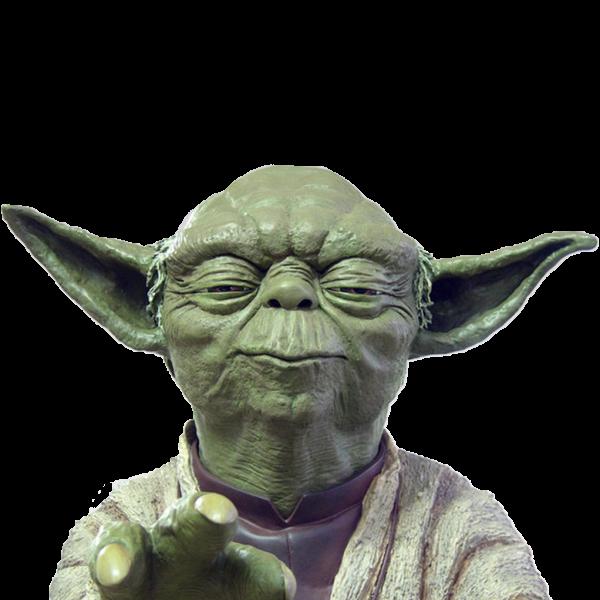 Figurine Yoda Using the Force