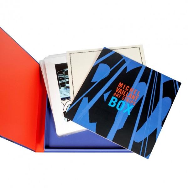 Michel Vaillant Art Strips Box