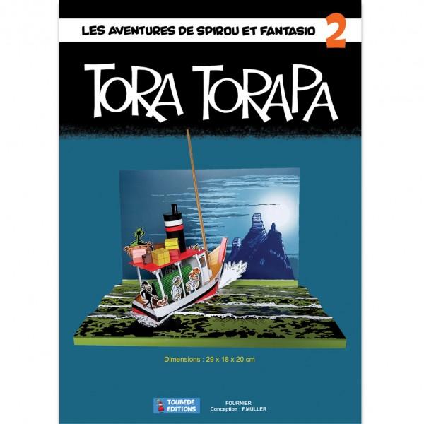 Diorama Spirou et Fantasio - Tora Torapa