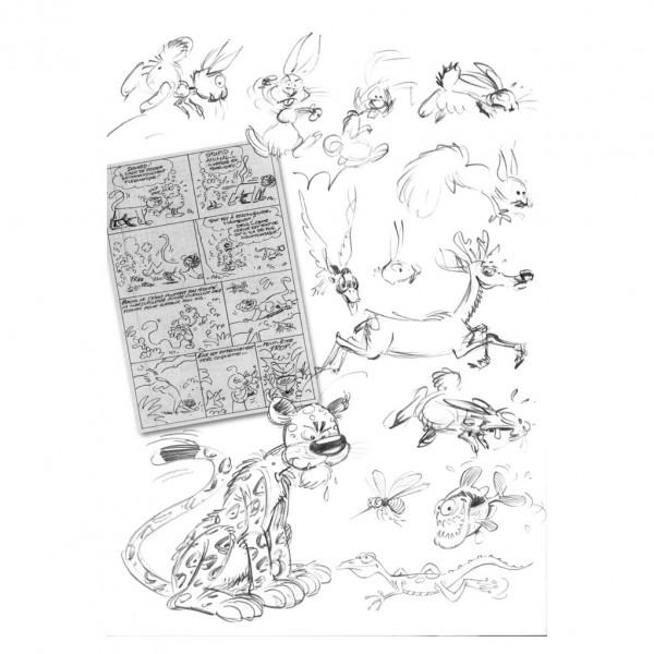 Tirage de tête - Marsupilami - Magie blanche