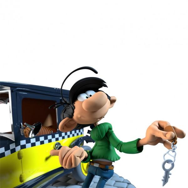 Gaston - Gaston et son taxi
