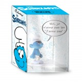 Figurine Grouchy Smurf, I don't like? (french)