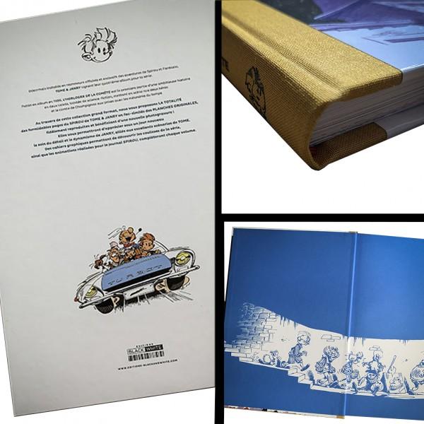 Deluxe album Spirou et Fantasio L'horloger de la comète (french edition)