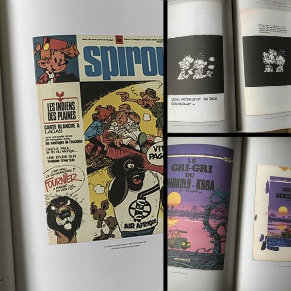 Deluxe album Spirou, Le Gri-gri du Niokolo Koba (french Edition)