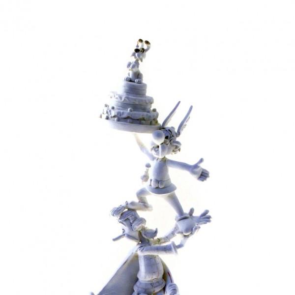 La Colonne Astérix - Figurine Pixi - Version Monochrome