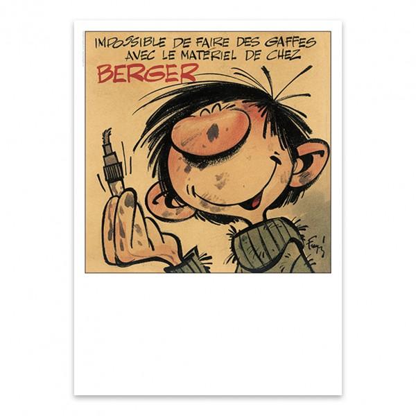 Set de 3 affiches d'art - Spirou, Marsupilami et Gaston Lagaffe