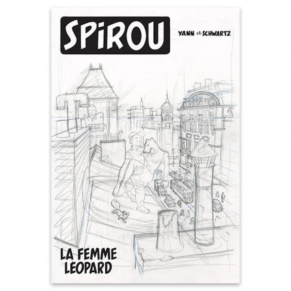 Spirou - La Femme Léopard - Tirage de luxe - version classique