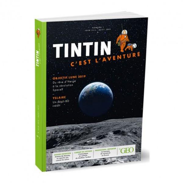 Géo Tintin, c'est l'aventure n. 1