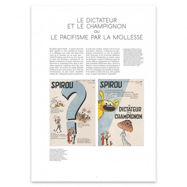 Tirage de tête - Spirou VO Tome 23 - Le Dictateur et le champignon