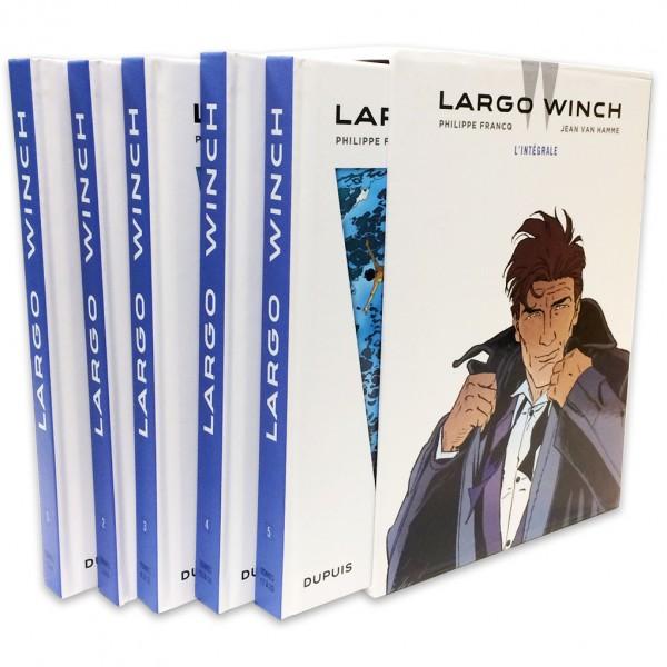 Coffret Intégrale Largo Winch (Francq et Van Hamme)