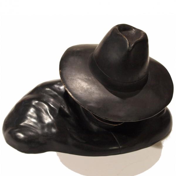 Buste d'Olrik en bronze par Pixi - La Marque Jaune