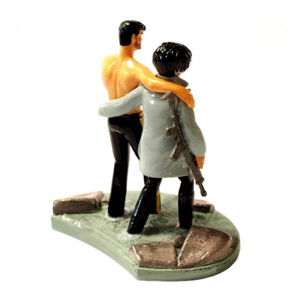 XIII et le major Jones (El Cascador) - Figurine Pixi