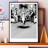 Silkscreen print Tif & Tondu Blutch 3