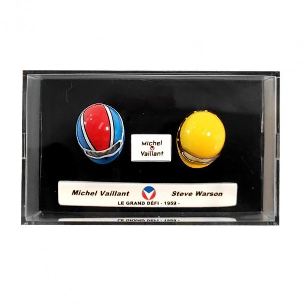 Mini casque Michel Vaillant - M. Vaillant / S. Warson 1