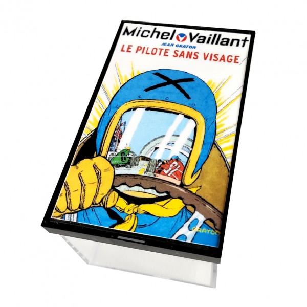 Mini casque Michel Vaillant - M. Vaillant / JP. Vaillant 2