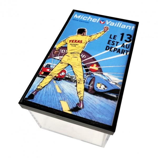Mini casque Michel Vaillant - M. Vaillant / Texas Driver 5