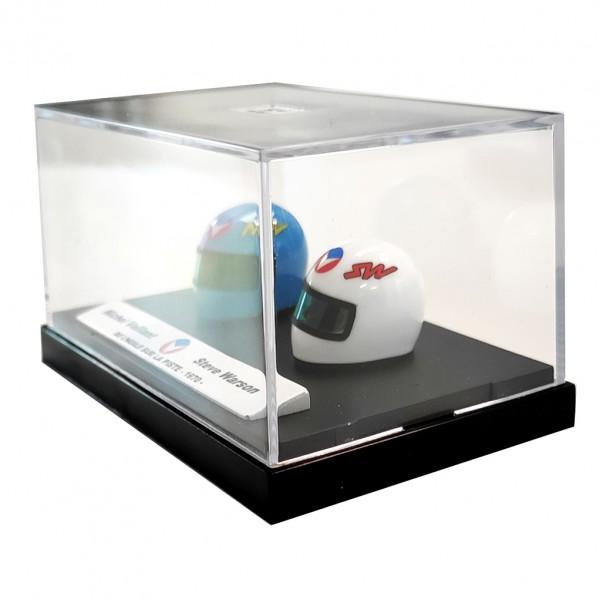 Mini helmet Michel Vaillant M. Vaillant / S. Warson 18