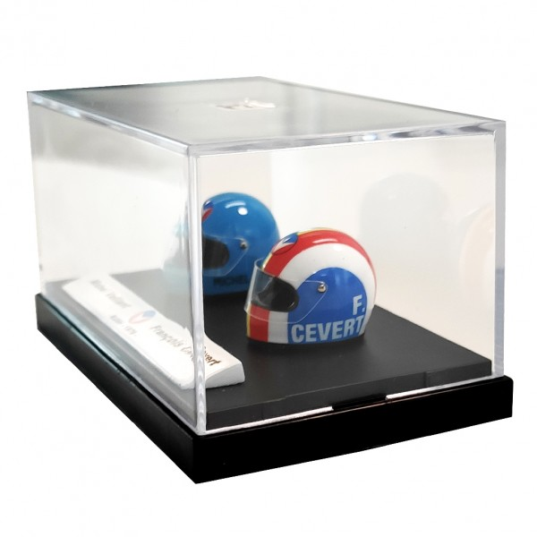 Mini casque Michel Vaillant - M. Vaillant / F. Cevert 22