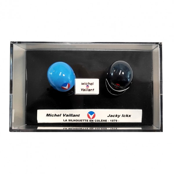 Mini casque Michel Vaillant - M. Vaillant / J. Ickx 33