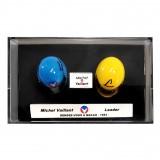 Mini casque Michel Vaillant - M. Vaillant / Leader 43