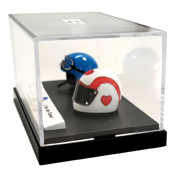 Mini casque Michel Vaillant - M. Vaillant / L'as de Coeur 50