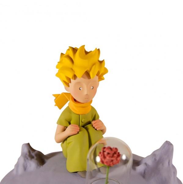 Le Petit Prince et la rose, sur la lune (Fariboles)