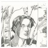 Lithographie Léna André Juillard
