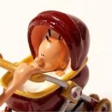 Figurine Pixi Titeuf Zizie's walk The burgundy pram