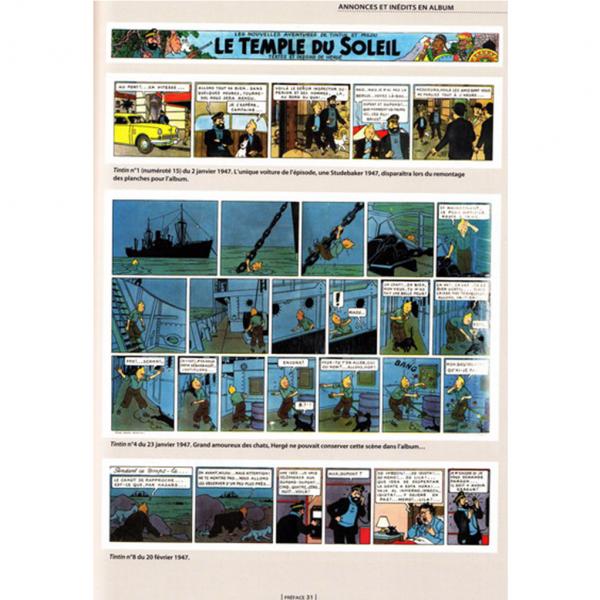 Livre Tintin et le Temple du Soleil Les Archives Tintin