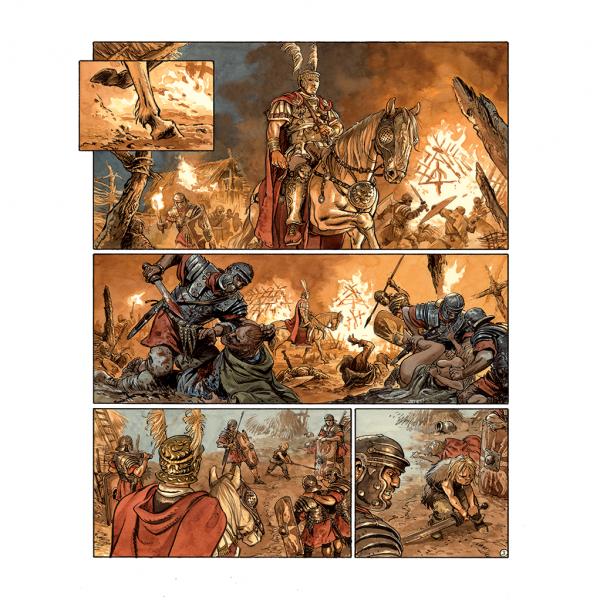 Tirage de tête Les aigles de Rome Livre 4