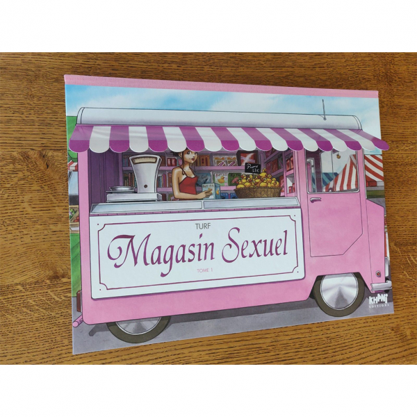 Deluxe album Magasin Sexuel T1 (french Edition)