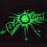 Glow-in-the-dark silkscreen print Gomer Goof Franquin BAOUM