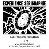 Sérigraphie phosphorescente Gaston Franquin BAOUM