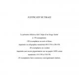 Tirage de tête - De l'autre coté de la frontière -L.Hennebelle (Couleur)